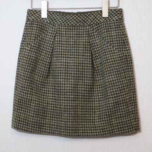 \J. Crew\• Origami Houndstooth Wool Mini
